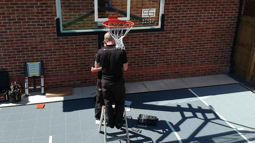 Sport Court UK - Residential Court Installation - Pro SlamSystem