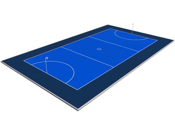 International Competition Netball Court - Blue