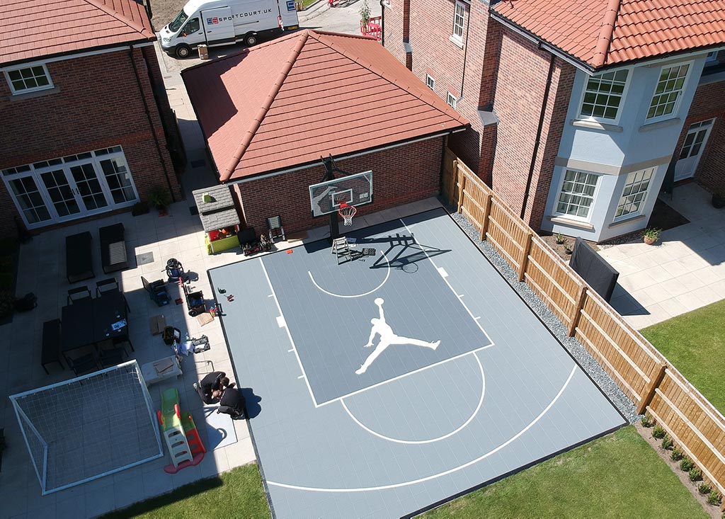 Sport Court UK - Home Basketball Courts